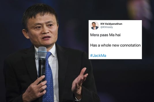 Jack Ma's reappearance  has led to jokes on social media | Image credit: Reuters/Twitter
