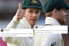 Steve Smith Offered Booze to Tim Payne Amid Twitter Trolling. Neither Are Australian Cricketers