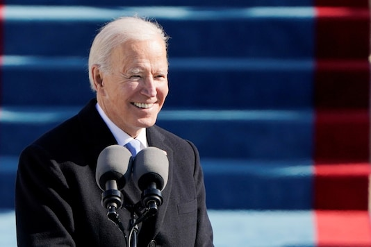 File photo of US President Joe Biden from the inauguration ceremony. (Image: Reuters)