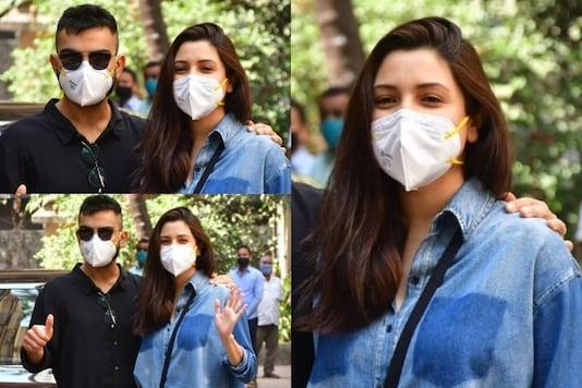 Anushka Sharma and Virat Kohli (Image courtesy: Viral Bhayani)