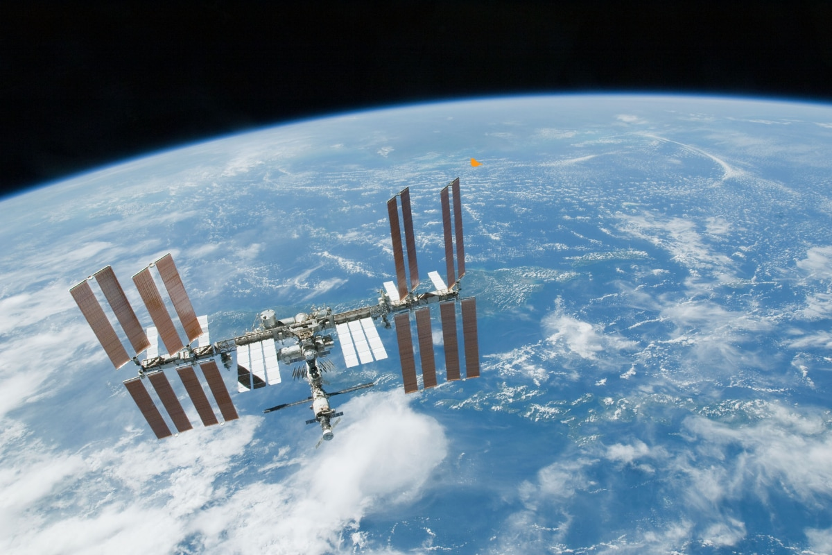 Can A Single Piece Of Floating Cheets Destroy The International Space Center?