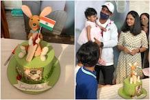 Ajinkya Rahane Gets Grand Welcome With a Kangaroo Cake After Clinching Border-Gavaskar Trophy