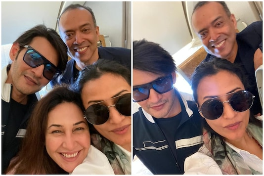 Ahead of Birthday, Namrata Shirodkar Heads to Dubai with Mahesh Babu and Friends