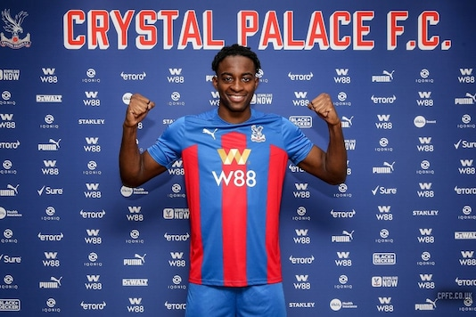 Crystal Palace Signs French Striker Mateta (Photo Credit: CPFC Twitter)