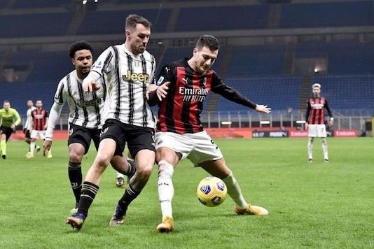 Diogo Dalot (Photo Credit: AC Milan Twitter)