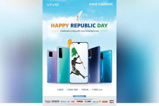 Vivo India Announces Republic Day Sale Offers: Best Deals on Vivo V20, Y51A and Y30
