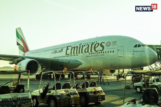 An Emirates Airbus A380. Image used for representation. (Photo: Manav Sinha/News18.com)