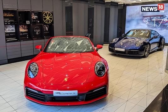 Porsche has opened the first Design Studio in Delhi, India, which makes our market one of the few in the world to have this facility. The Porsche Design Studio offers customers a unique experience of being able to customise their Porsche while being able to see different fabrics, paint finishes, accessory options and more in a cafe/studio-like format. (Photo: Manav Sinha/News18.com)