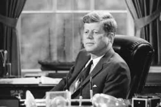 File Photo Of Senator John F. Kennedy