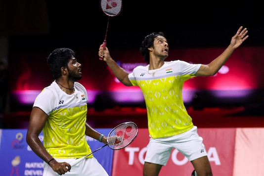 Satwiksairaj Rankireddy and Chirag Shetty (Photo Credit: BWF)
