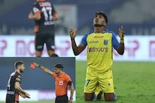 ISL 2020-21: Ivan Gonzalez Sees Red as 10-man FC Goa Hold Kerala Blasters to 1-1 Draw