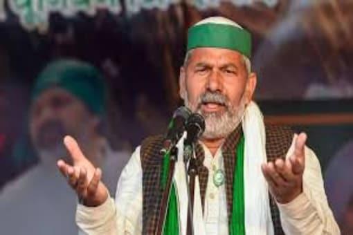 File photo of Bharatiya Kisan Union (BKU) leader Rakesh Tikait