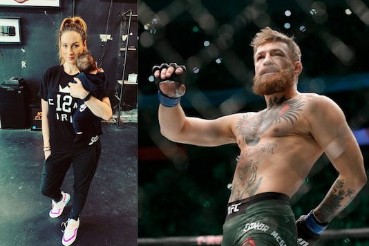 Becky Lynch and Conor McGregor (Photo Credit: Instagram and AP)