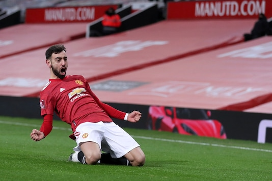 Bruno Fernandes helped Manchester knock Liverpool out of FA Cup. (Photo Credit: AP)