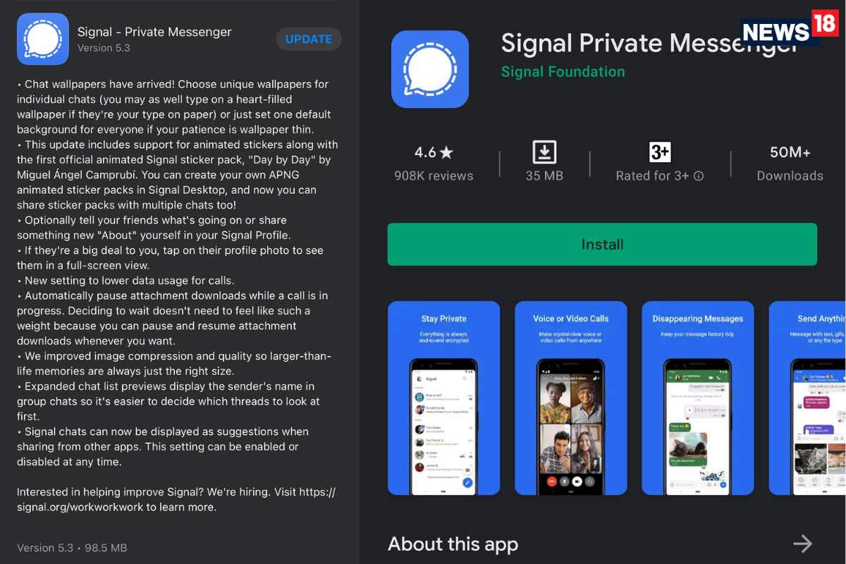 Signal Gets Another Big Update For Apple iPhone: Everything iPhone And Android Users Need To Know
