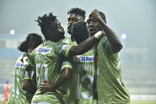 Gokulam Kerala FC eased past Neroca FC. (Photo Credit: AIFF Media)