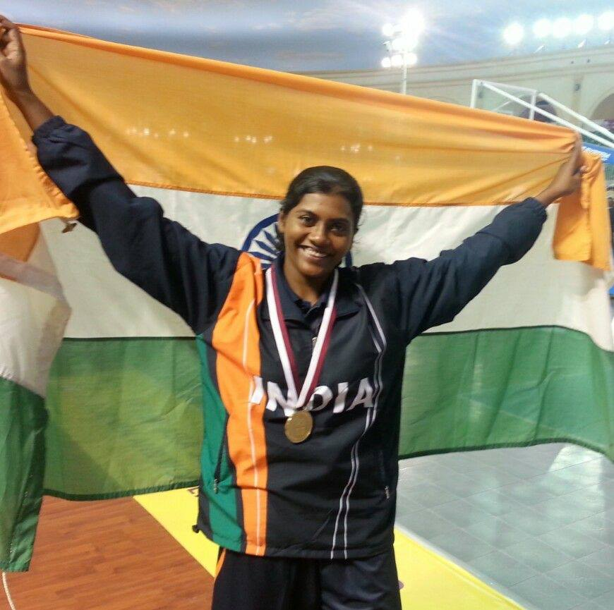 Anitha Pauldurai, 35, has represented India in basketball for 18 years (2000 to 2017), and has been the captain as well. (Photo Credit: Twitter)