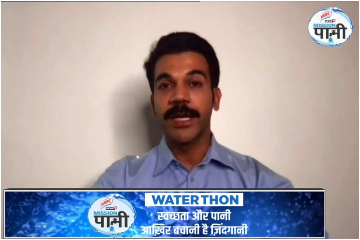 Mission Paani Waterthon: Rajkummar Rao Champions the Cause of Water Conservation