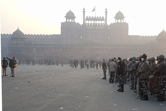 Security increased at Red Fort