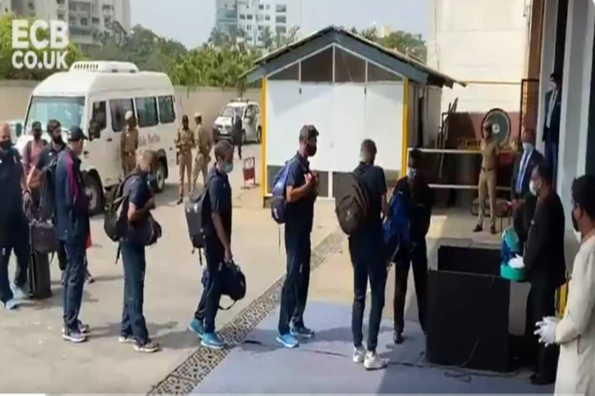 India vs England 2021: England Arrive in Chennai Ahead of Series Opener