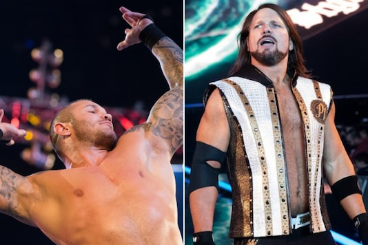 Randy Orton (L) and AJ Styles (Photo Credit: WWE)