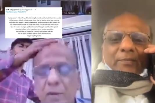 Doctor Who Got Scolded By Wife in Viral Video Says Not Taking Vaccine is a Laughing Matter