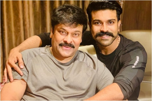 Chiranjeevi Sharing Screen Space with Son Ram Charan for First Time Ever in Acharya, Teaser Out Tomorrow