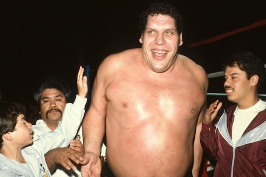 Andre the Giant (Photo Credit: WWE)