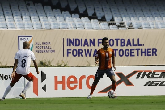 Points shared between RoundGlass Punjab FC and Sudeva Delhi FC (Photo Credit: AIFF)