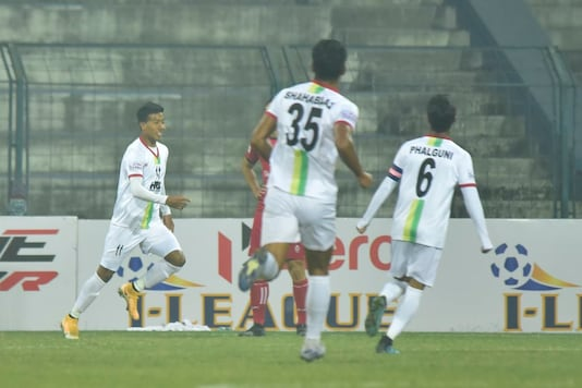 Churchill Brothers held to a draw by TRAU (Photo Credit: AIFF)