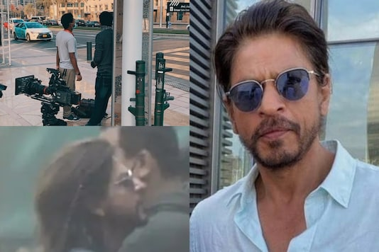 Shah Rukh Khan Spotted Shooting for Action Scene of Pathan in Dubai, See Pics and Videos