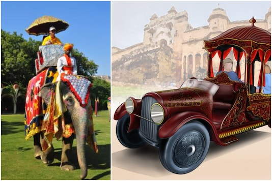 PETA has submitted a design for electronic chariots for tourists at Amer Fort | Image credit: IANS