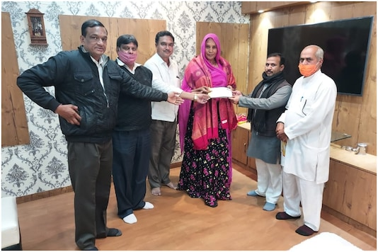 Around 20 transgender women from Rajasthan have raised lakhs of rupees for the construction of the Ram temple in Ayodhya | | Image credit: IANS
