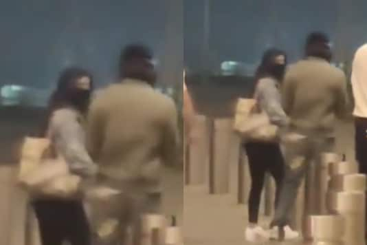 WATCH: Shah Rukh Khan Spotted in Swanky Red Car at Airport with Daughter Suhana