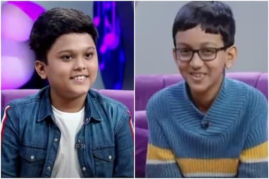 Byju's Young Genius award episode 3 featured Steven Samuel Devassy and Anubrata Sarker | Image credit: CNN News18