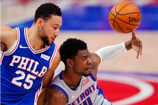 Wright, Ellington Lead Pistons Over 76ers 119-104
