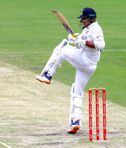 India 161-4 At Lunch, Day Three Of 4th Test Vs Australia