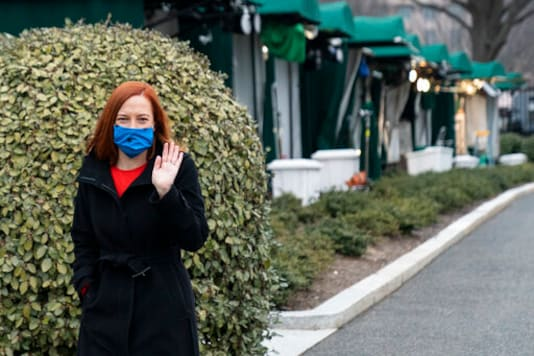 Testing Wristbands, Masks A Sign Of New Boss At White House
