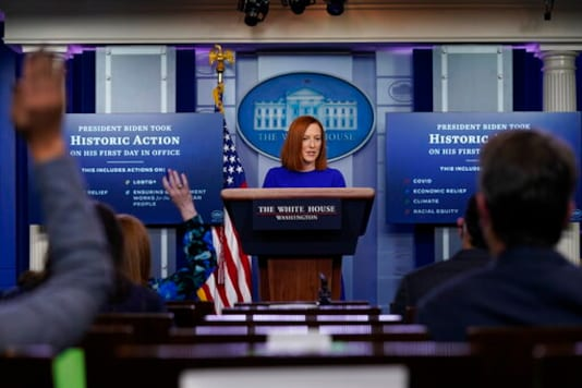 Smooth Psaki Shows New Tone In First Biden Press Briefing