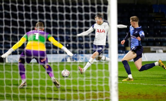 Bale Scores As Tottenham Recovers To Oust Wycombe In FA Cup
