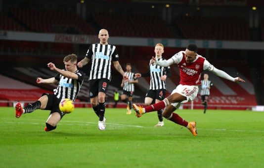 Aubameyang Ends Drought In Arsenal's 3-0 Win Over Newcastle