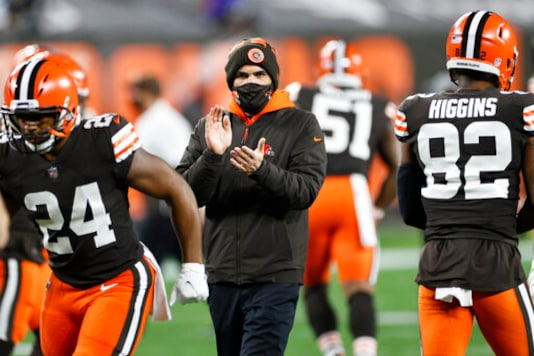 The Latest: 2nd Browns Coach Tests Positive For Virus