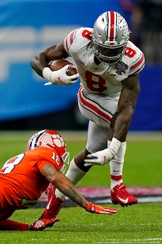 Fields' Day: No. 3 Ohio State Routs No. 2 Clemson 49-28