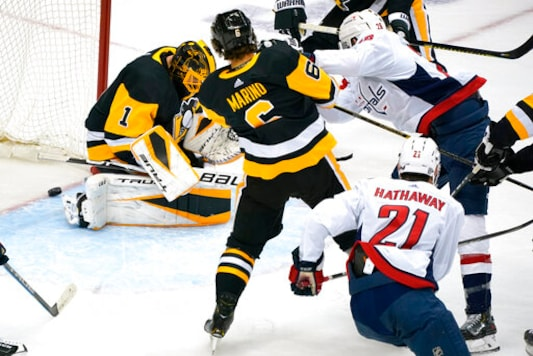 Guentzel's Winner Lifts Penguins By Capitals 4-3 In Shootout