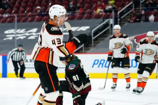 Gibson Stops 31 Shots In Ducks' 1-0 Win Over Coyotes