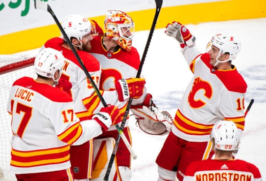 Flames Beat Canadiens 2-0 For Habs' First Regulation Loss.