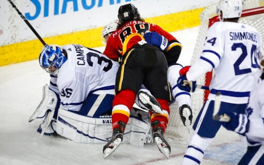 Maple Leafs Goalie Jack Campbell Out With Leg Injury
