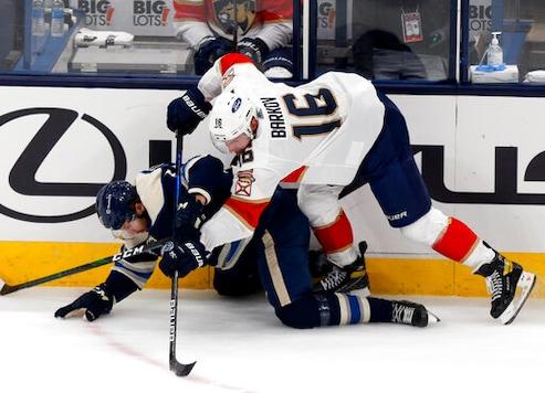 Hornqvist's Shootout Goal Lifts Panthers Over Blue Jackets