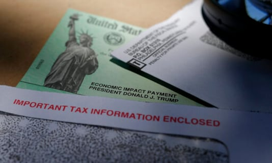 Some Taxpayers Find Relief Payments Sent To Wrong Account