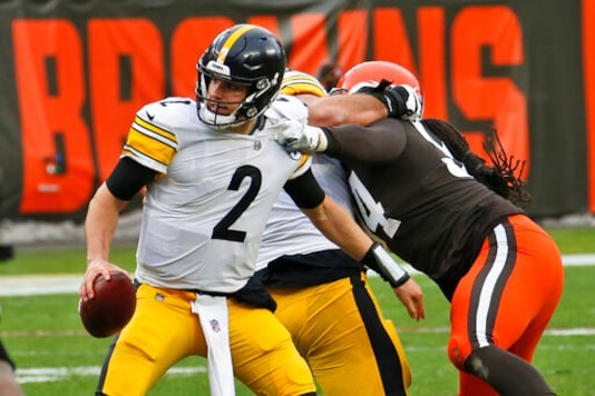 Steelers QB Rudolph Shows Poise In Return To Cleveland